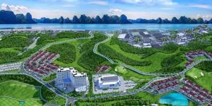 Khu đô thị phức hợp Hạ Long Xanh có vốn đầu tư hơn 232.000 tỷ đồng