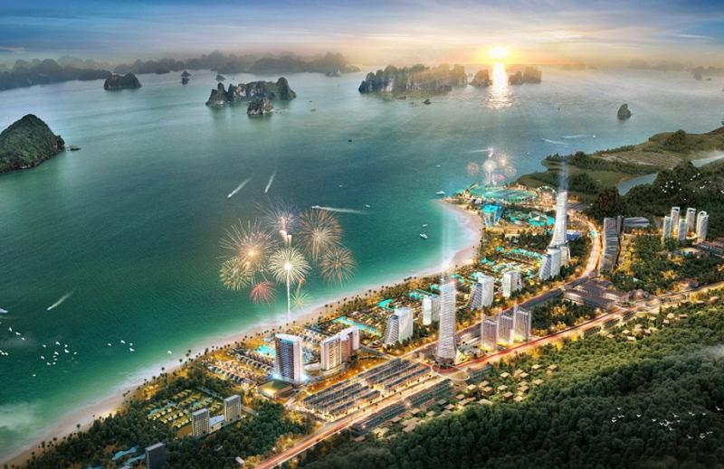 Tổ hợp du lịch nghỉ dưỡng Sonasea Vân Đồn Harbor City
